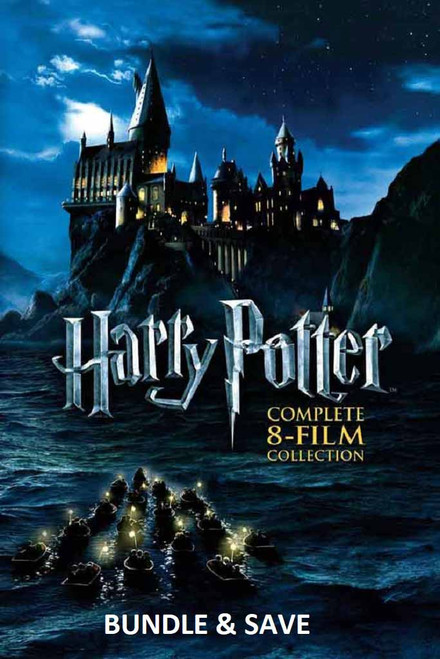 Harry Potter 8 Film Collection [UltraViolet HD or iTunes via Movies Anyhwere]