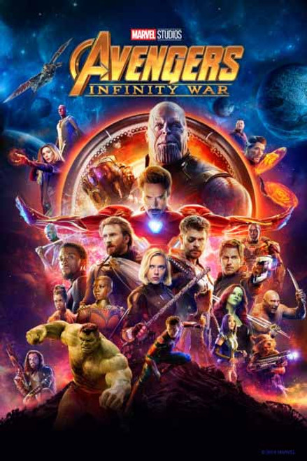 Avengers Infinity War [Vudu 4K or iTunes 4K via Movies Anywhere]