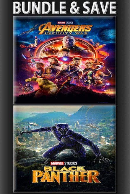 Avengers Infinity War + Black Panther