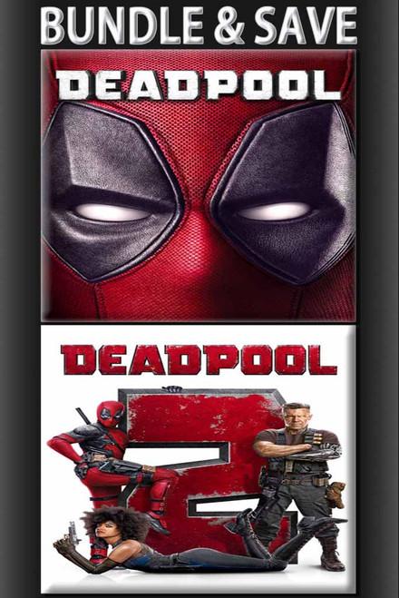 Deadpool 1 & Deadpool 2 Includes Super Duper Cut BUNDLE [UltraViolet HD or iTunes via Movies Anywhere]