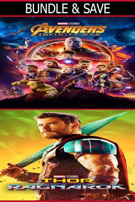 Avengers Infinity War + Thor Ragnarok