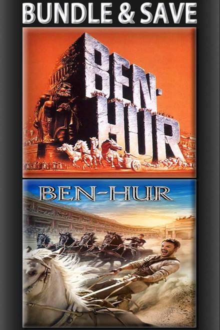 Ben Hur (1959) + Ben Hur (2016) BUNDLE [Vudu Redeem]