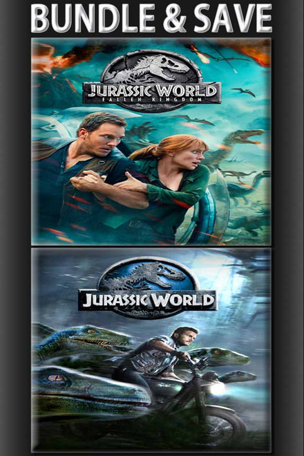 Jurassic World: Fallen Kingdom + Jurassic World BUNDLE