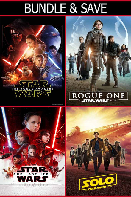 4 Pack Star Wars Bundle