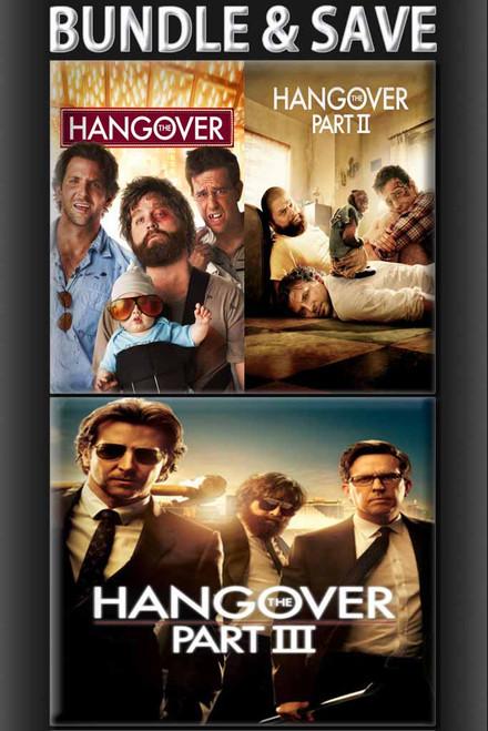 The Hangover I, II, II Triple Play Bundle [Movies Anywhere or iTunes via Movies Anywhere]