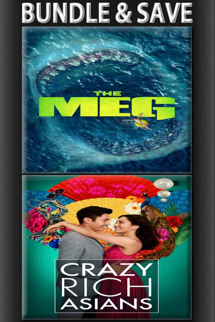The Meg And Crazy Rich Asians Bundle [Movies Anywhere or iTunes via Movies Anywhere] Pre Order Delivery November 20th