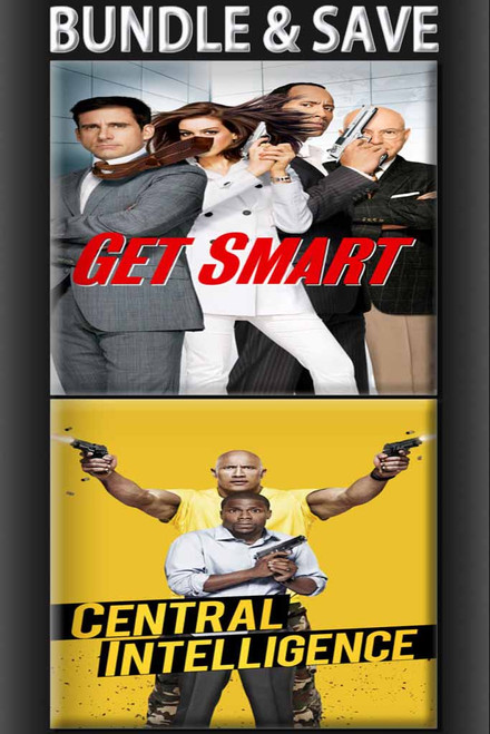 Central Intelligence + Get Smart BUNDLE [Movies Anywhere or iTunes via Movies Anywhere]