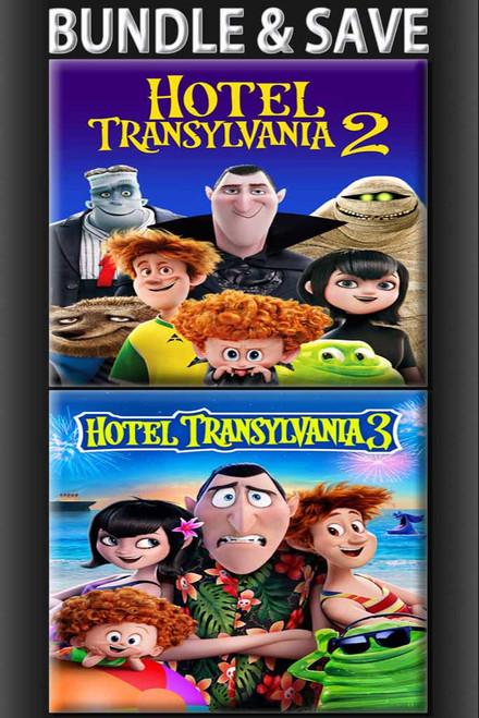 Hotel Transylvania 2 + Hotel Transylvania 3