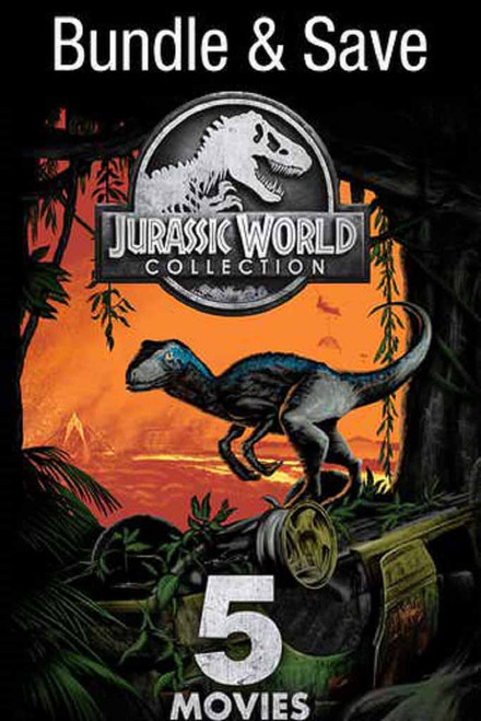 Jurassic World 5 Movie Bundle