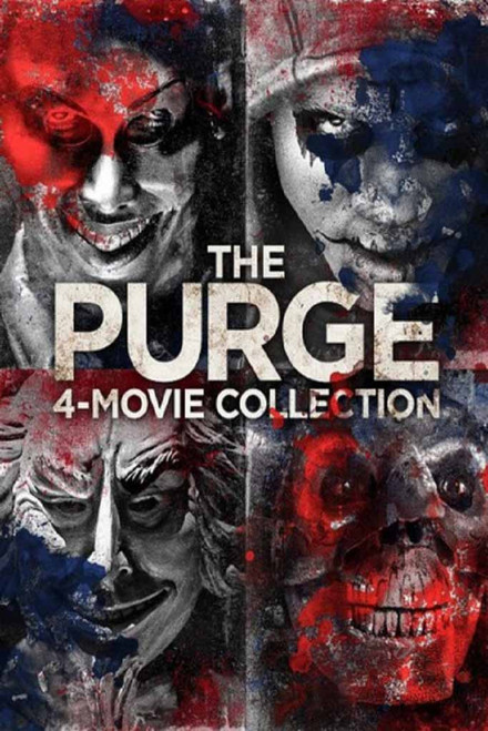 Purge: 4 Movie Collection Bundle [Movies Anywhere HD, Vudu HD or iTunes HD via Movies Anywhere]