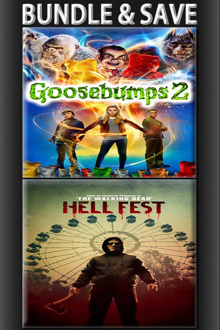 Goosbumps 2 + Hell Fest