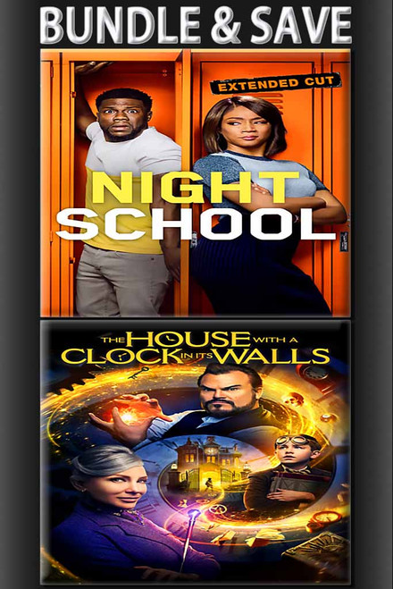 Night School + House With Clock On It's Walls