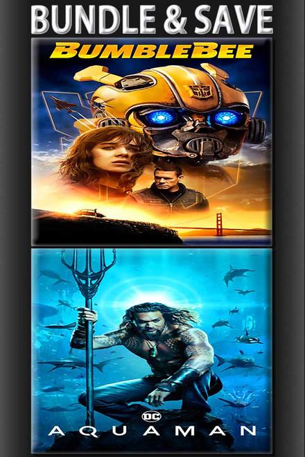 Aquaman + Bumblebee Bundle