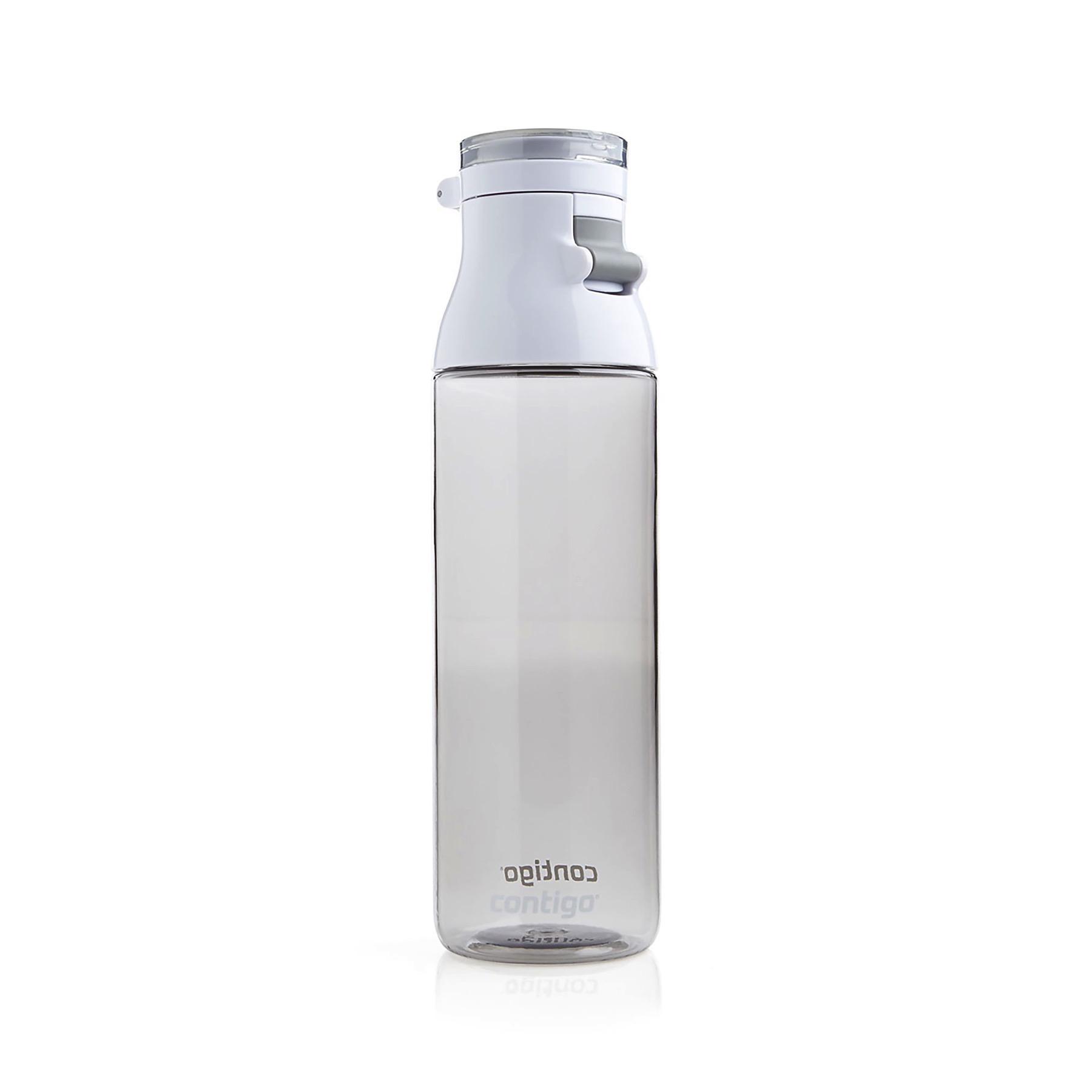 Contigo Jackson Water Bottle 24oz Smoke Gray Flip Top Cap