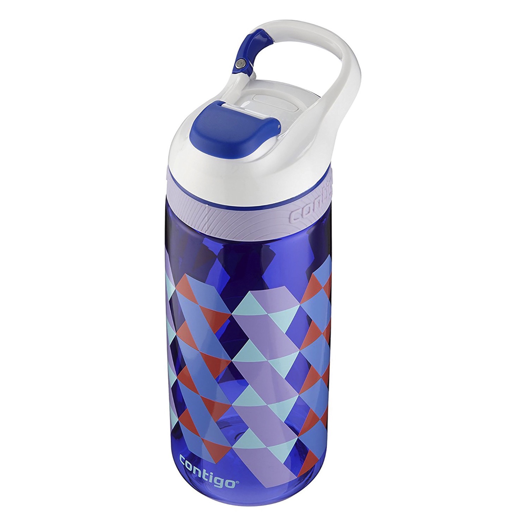 Contigo AUTOSEAL Courtney Kids Water Bottle 20oz Cerulean Braid Blue BPA-Free