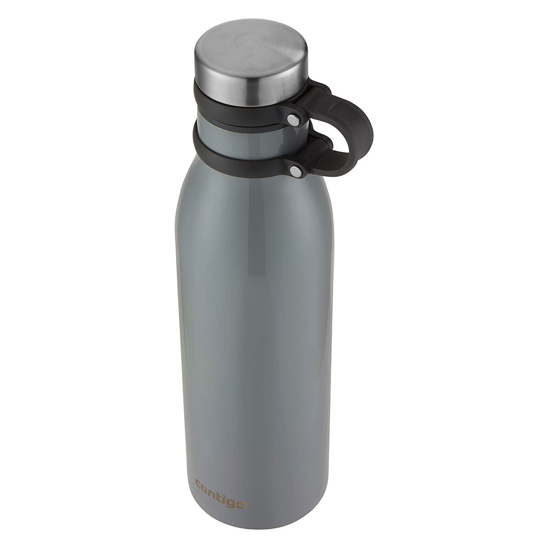 d0284b7ffe Details about Contigo Couture THERMALOCK 20oz Insulated Stainless Water  Bottle Metallic Bass