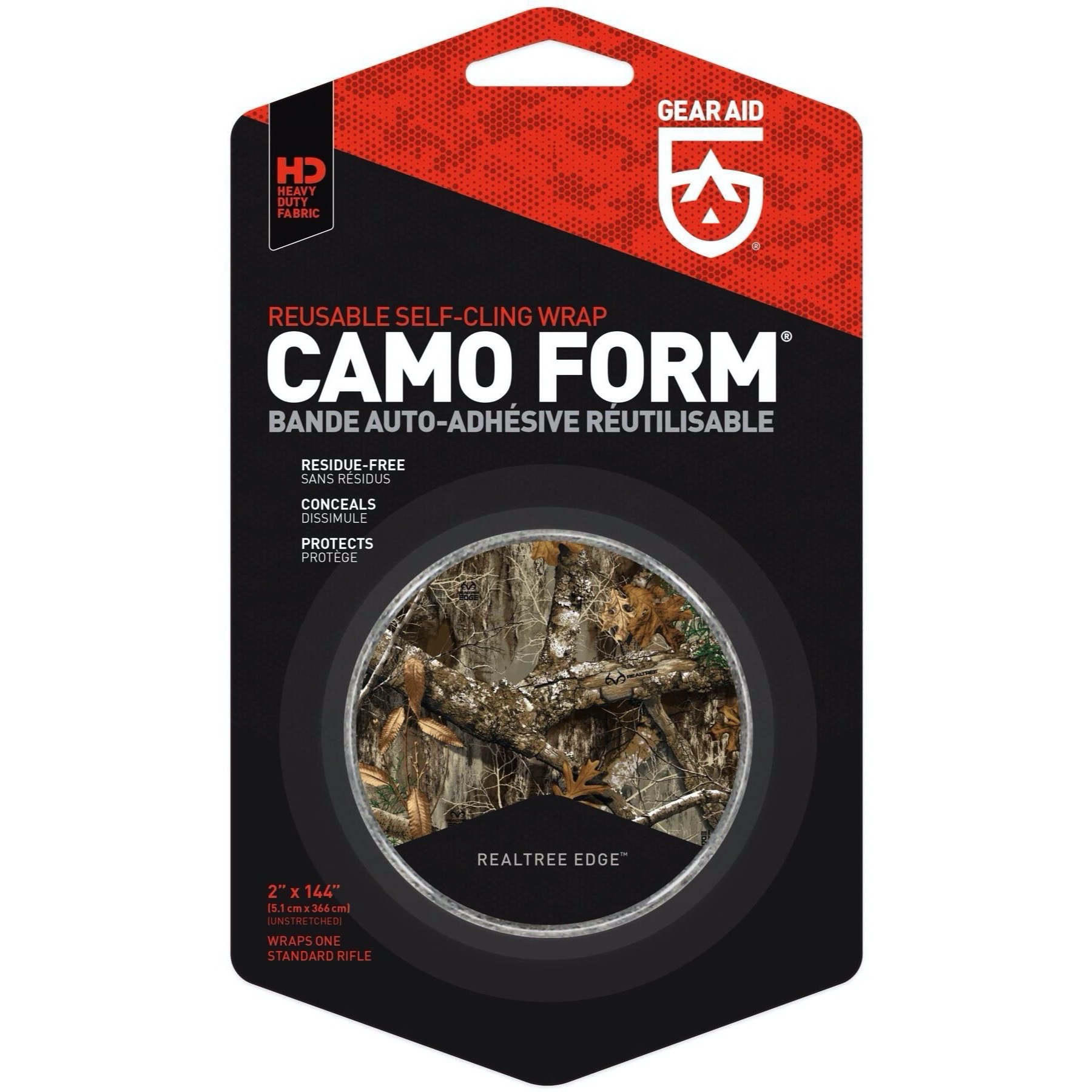 """McNett Camo  Reuseable Self-Cling Camouflage Fabric Wrap Army Digital  2/""""x144/"""""""