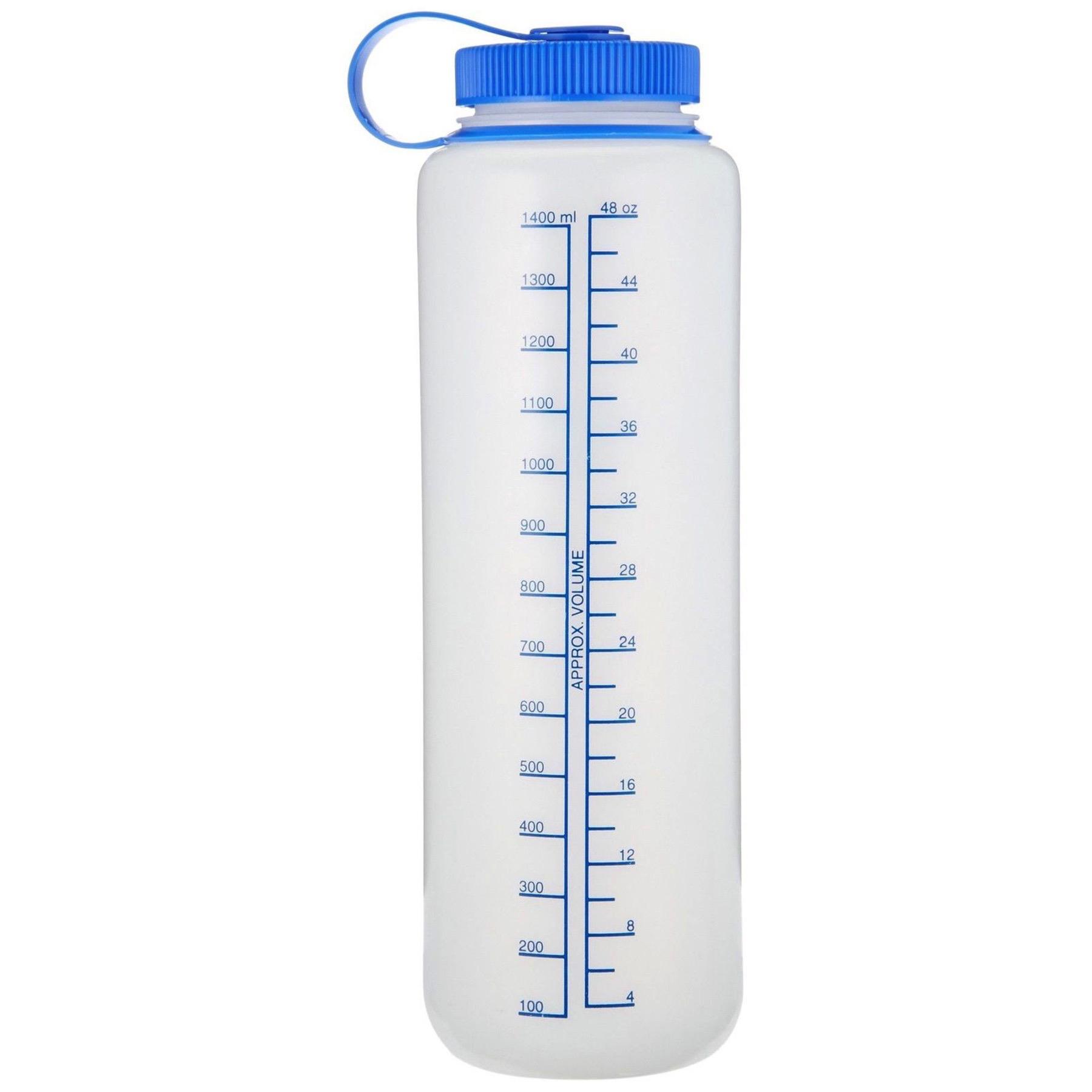 65d9a3134e Nalgene HDPE 48oz Silo Wide Mouth BPA-Free Water Bottle Outdoor Recreation