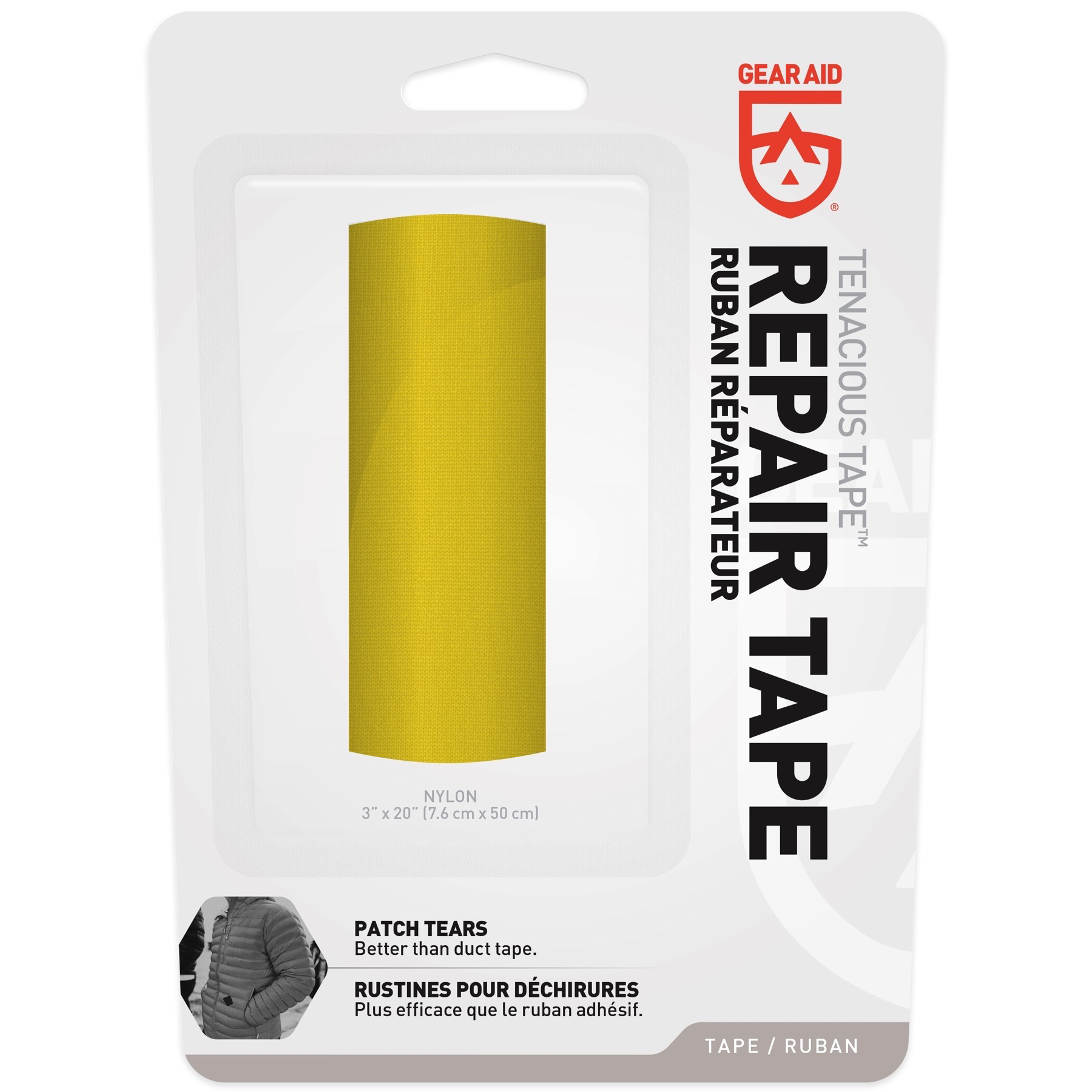 Gear Aid Tenacious Tape Yellow 3 Quot X20 Quot Ultra Strong