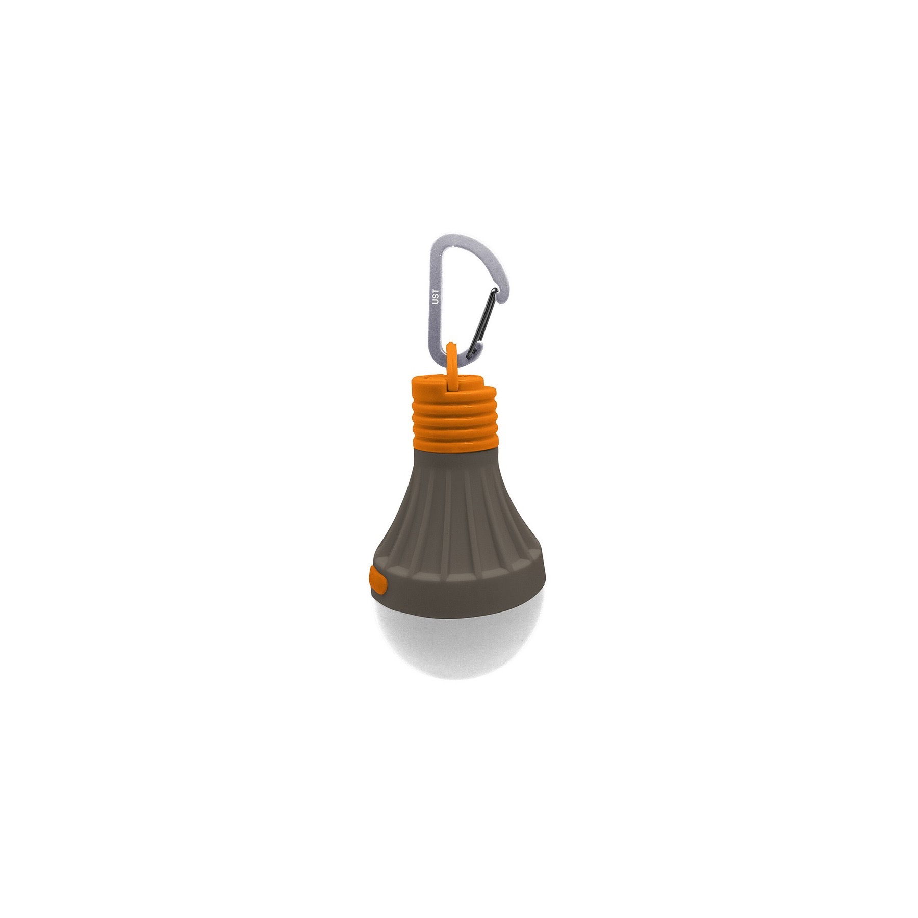 """Ultimate Survival UST 30 Day Lantern 7 1//2/"""" high Gray and orange impact and weat"""