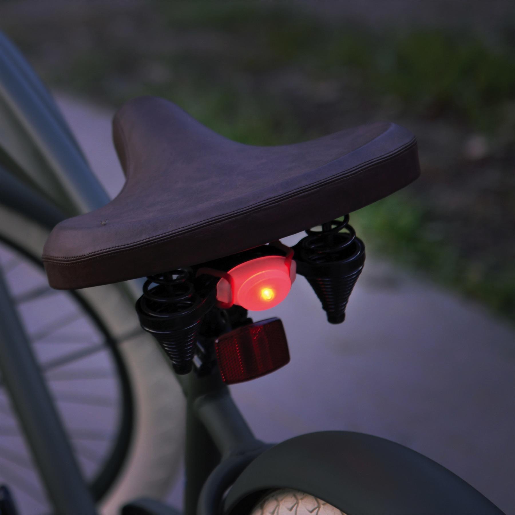 Nite Ize TwistLit LED Bike Light Red Bicycle Safety Tail Light Glow /&Flash Modes