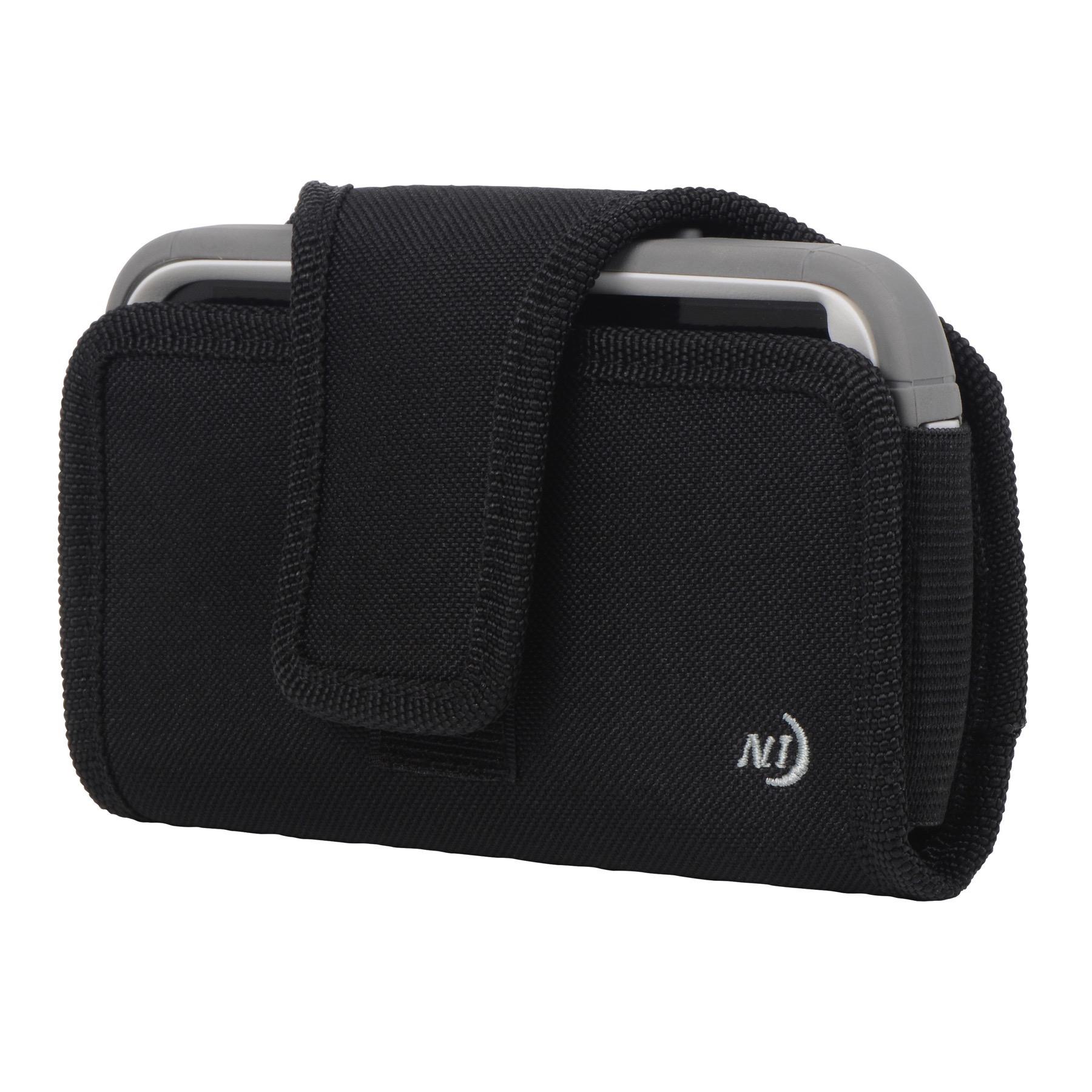 Nite Ize Fits All Phone Case Horizontal Black X-Large Rugged Holster Belt Clip