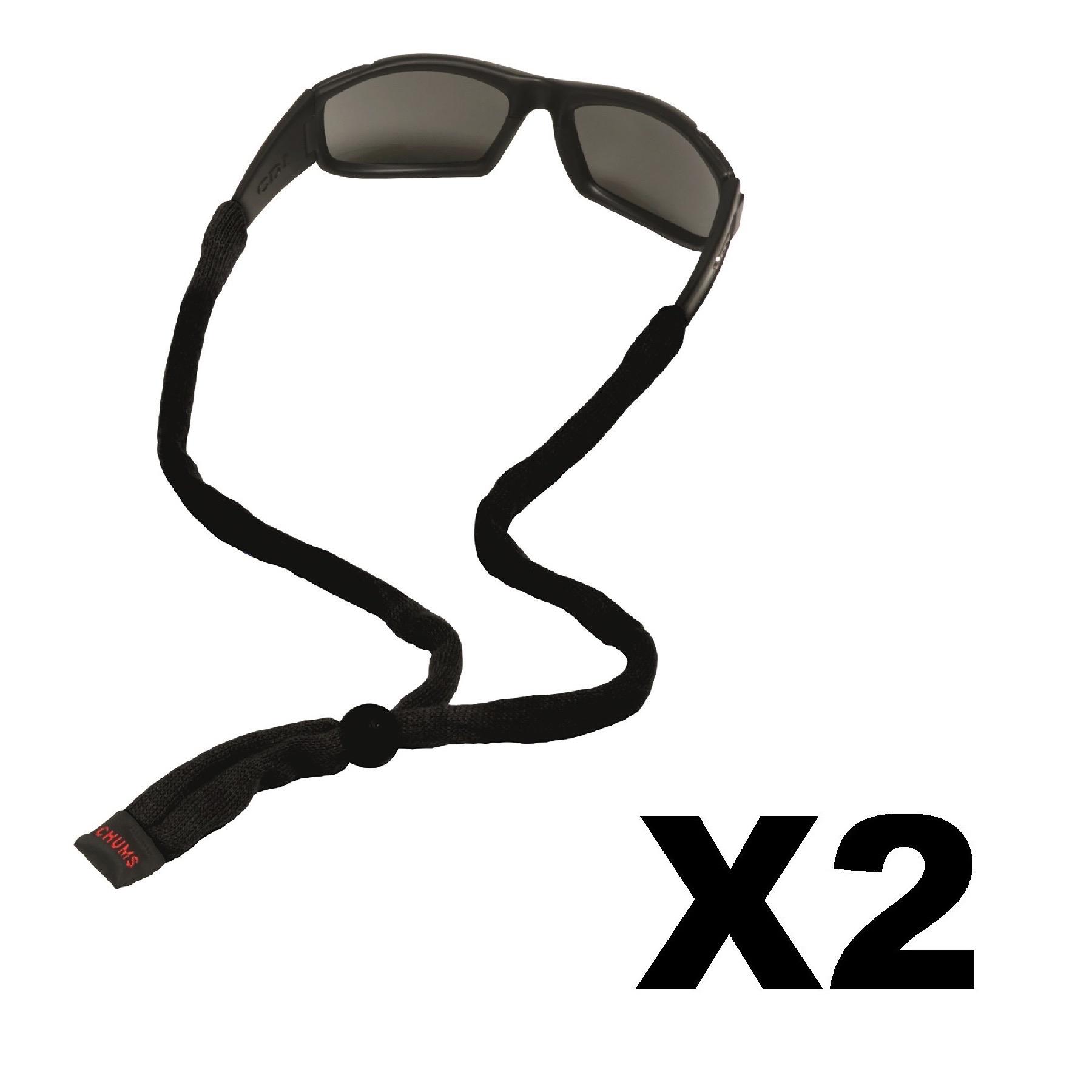 CHUMS Safety Cotton Original Assorted End Eyewear 25//Bag