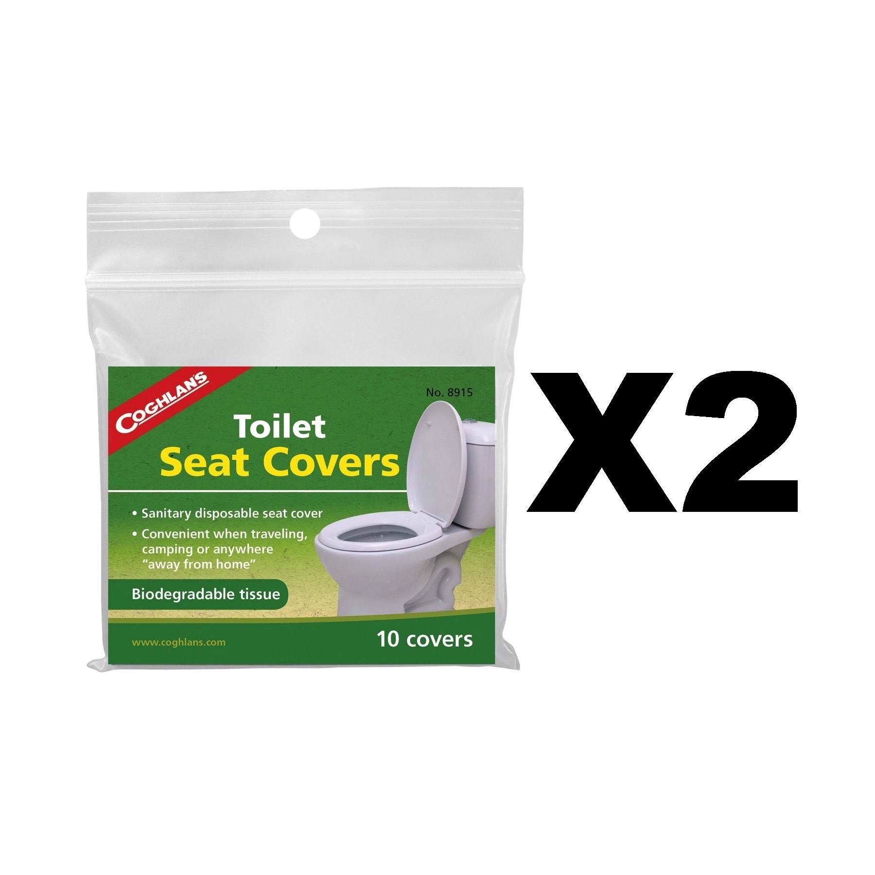 Awesome Details About Coghlans Toilet Seat Covers Biodegradeable Tissues Camping 2 Pack Of 10 Caraccident5 Cool Chair Designs And Ideas Caraccident5Info