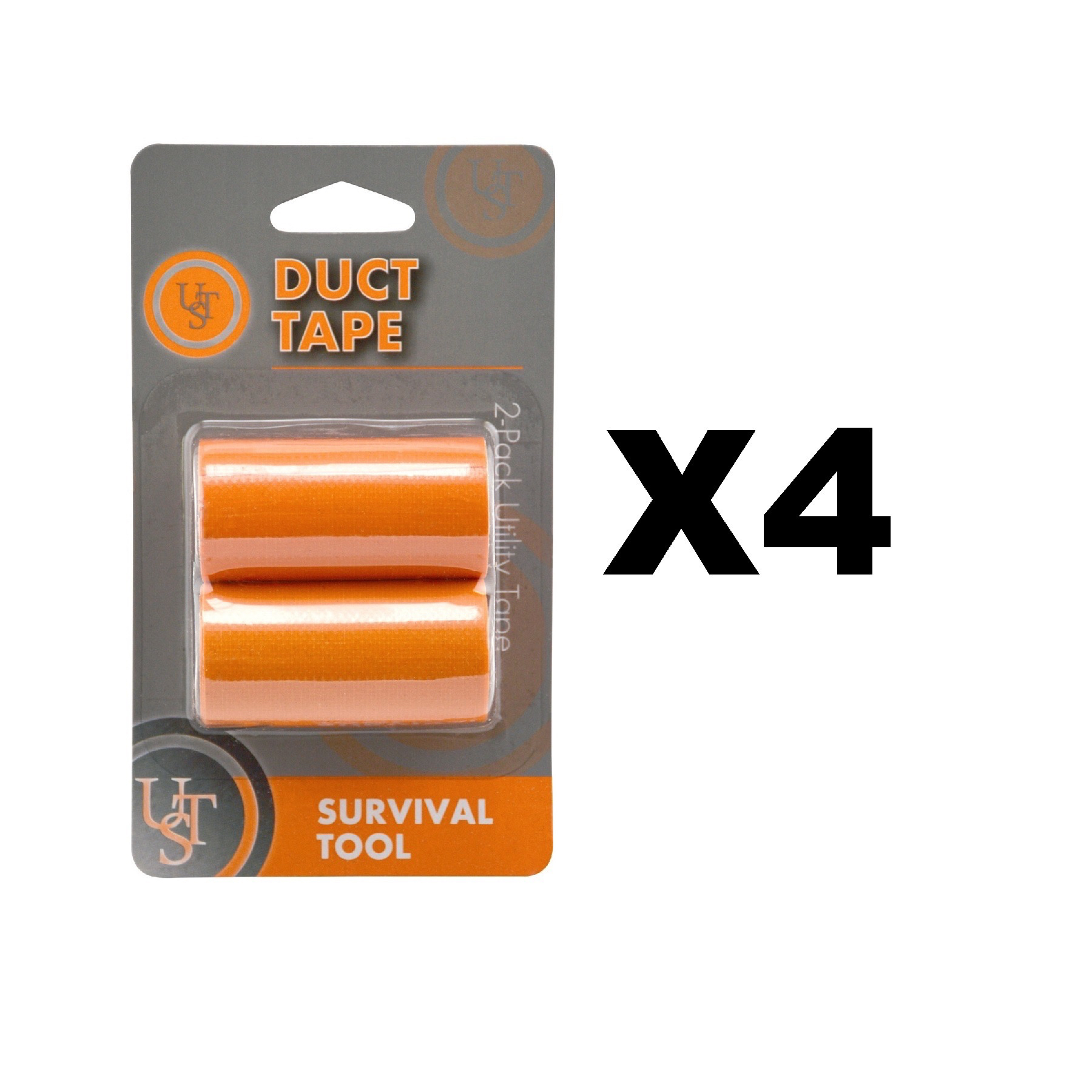 Ultimate Survival Technologies Duct Tape Rolls Orange