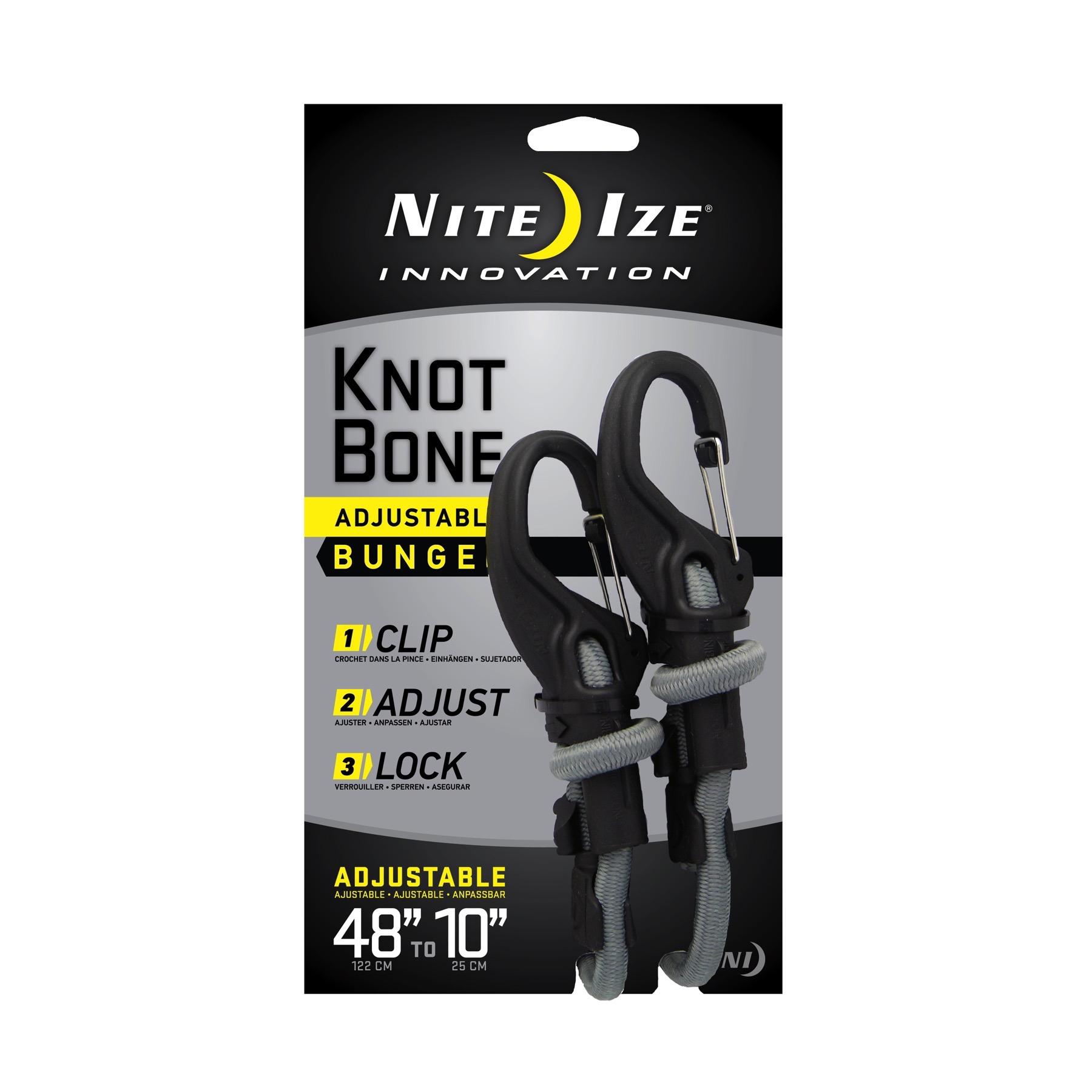 Nite Ize Figure 9 Carabiner Sm Rope Tightener 2-Count Black Biner Rope 2-Pack