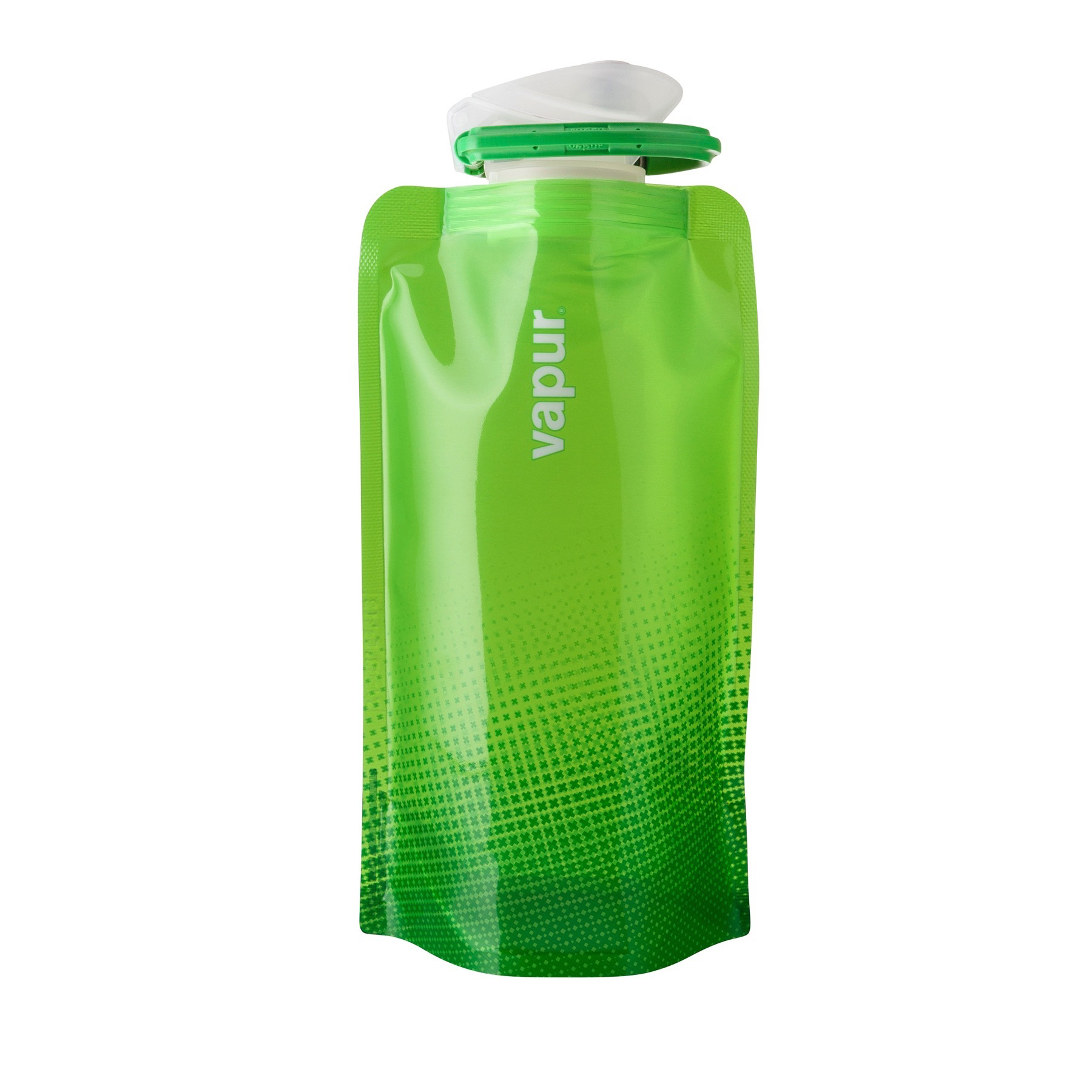 0.5 Litres Grey Vapur Shades Reusable Plastic Water Bottle