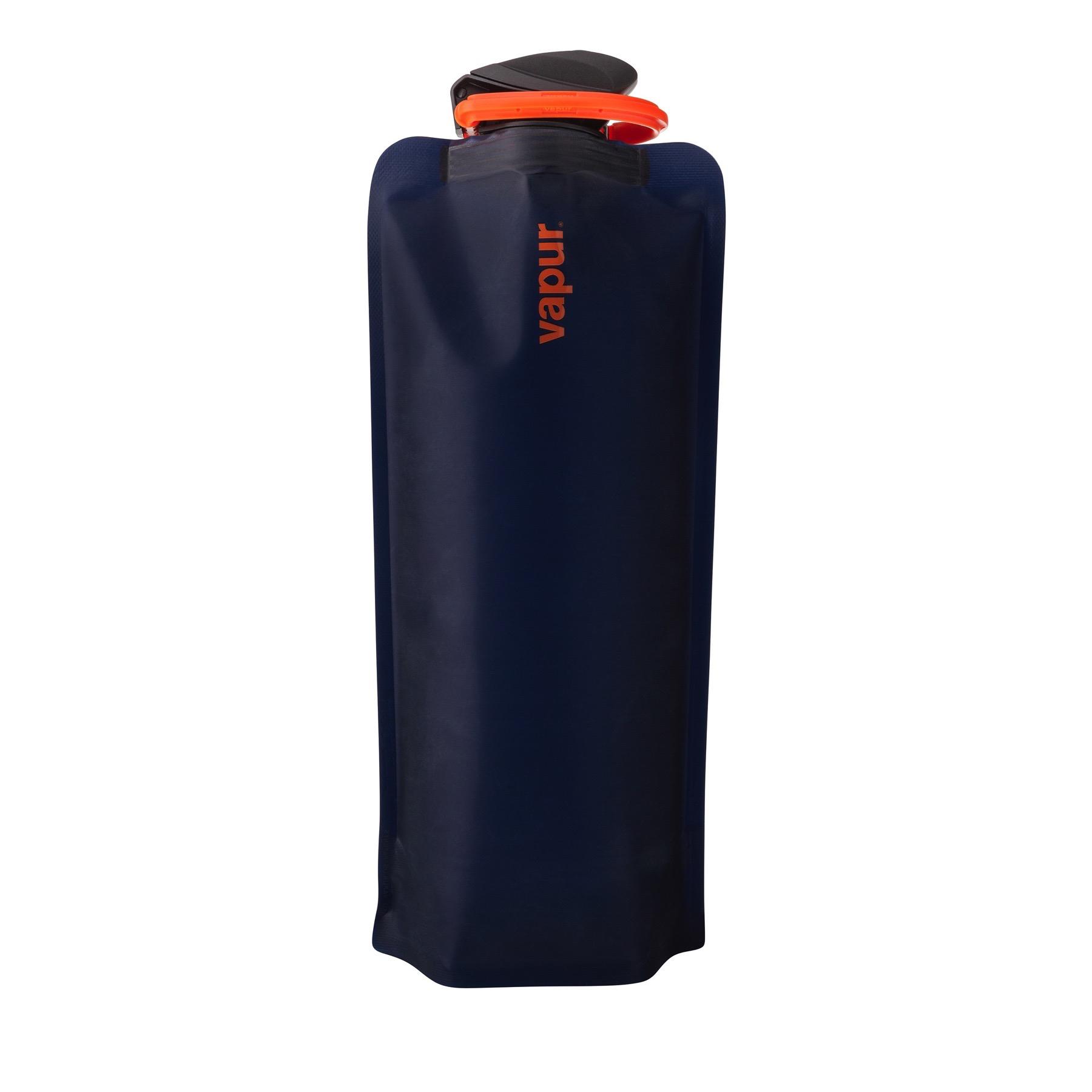 Vapur Eclipse 1 Liter Matte Night Blue Flexible Water Bottle Durable Flask 34oz