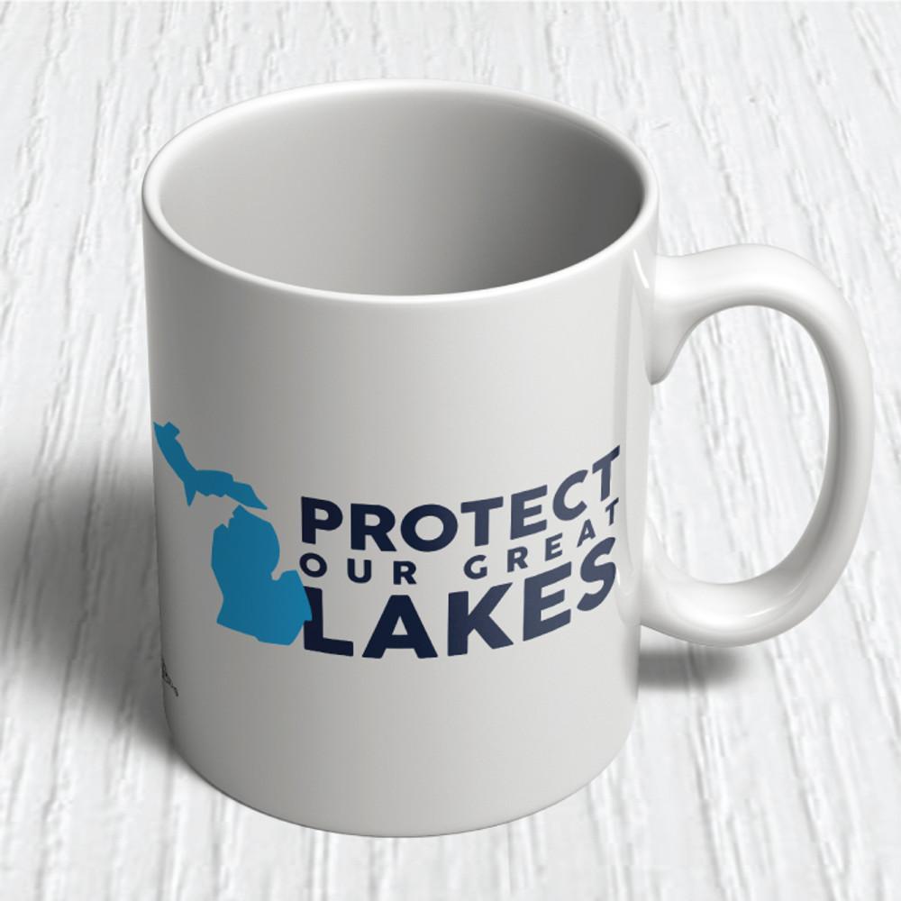 Protect Our Great Lakes (11oz. Coffee Mug)