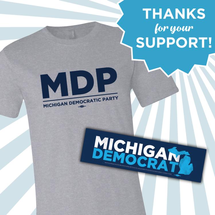 MDP Thank You T-Shirt & Sticker!