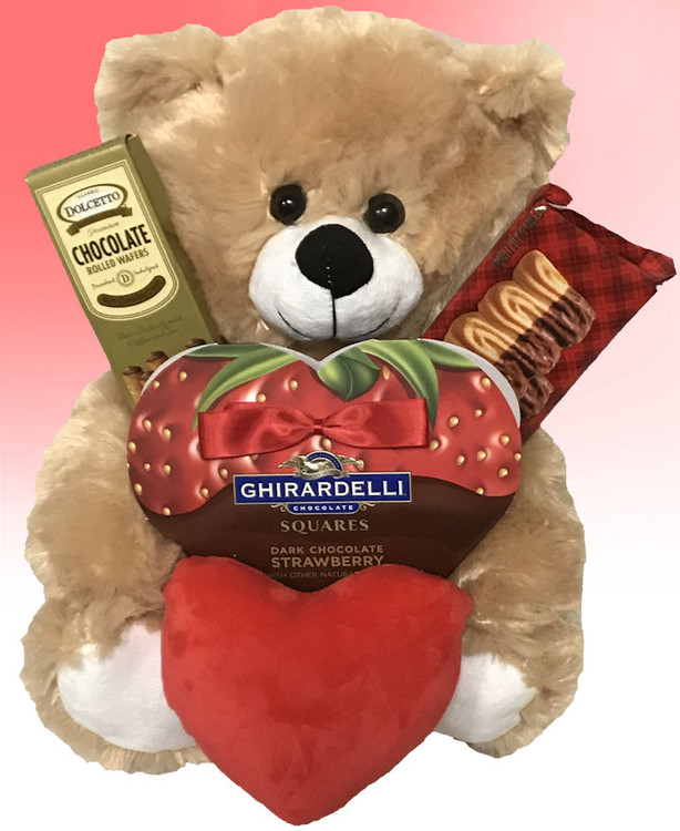 strawBEARy and Chocolate