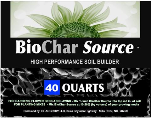 BioChar Source from CharGrow 40 Quart