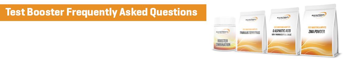 Test Booster FAQ