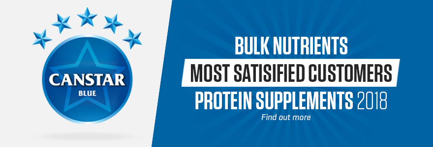Bulk Nutrients was voted number 1 for customer satisfaction in 2018