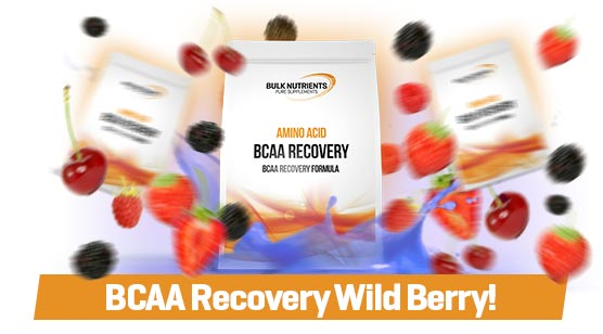 Bulk Labs has arrived with BCAA Recovery Wild Berry