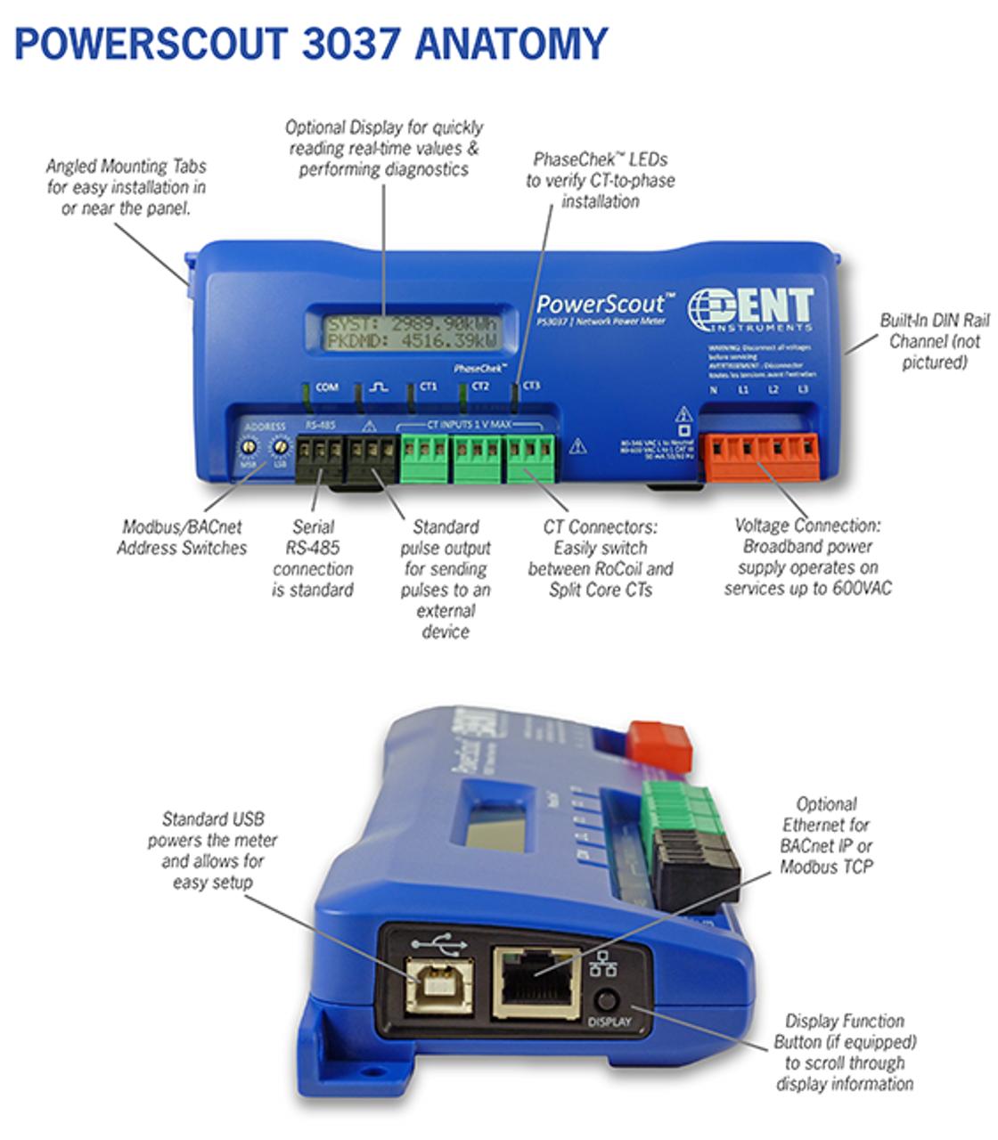 Dent PowerScout 3037 description.