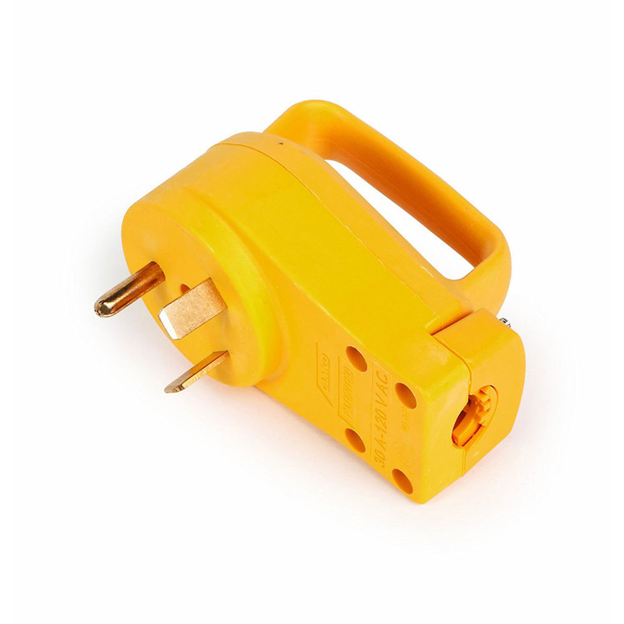 Camco 55242 Rv Replacement 30 Amp Male End Plug 55245 Wiring Up A Motorhome