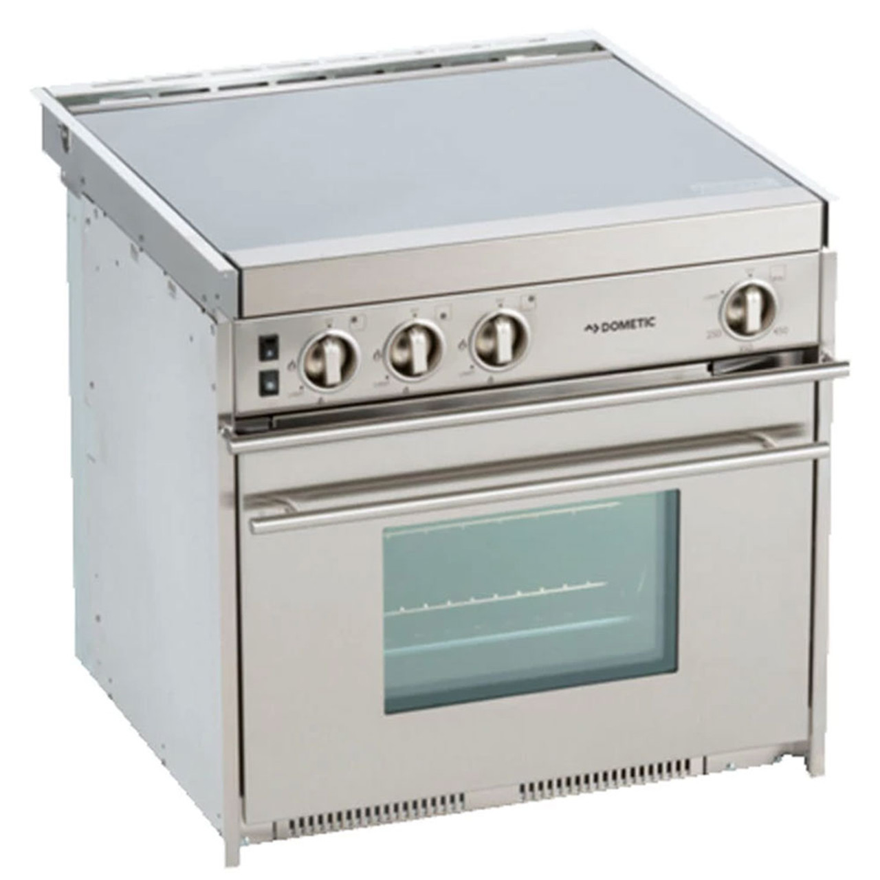 dometic cu 434 propane 3 burner stainless steel stove oven