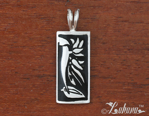 Silhouette collection bird of paradise pendant 12mm silhouette collection bird of paradise pendant aloadofball Images