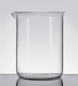 Quartz High Temperature Beaker, Low Form, 400ml