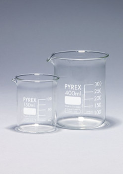 PYREX Borosilicate Glass Beaker, Low Form, 5000ml