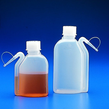 Wash Bottles, Integral, 500ml (Pack of 2)