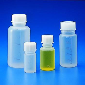 Graduated Wide Neck bottles, Polypropylene, 250ml (Pack of 2)