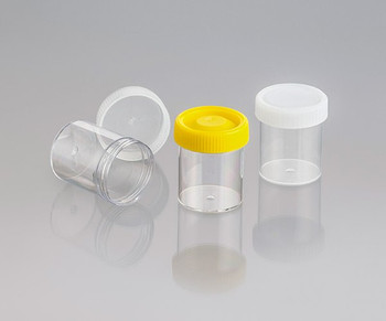 Screw Cap Container, Labelled, Sterile, 70ml (Carton of 550)