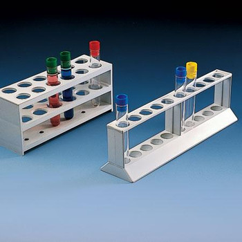 Test Tube Rack, Ten Position, 18mm holes