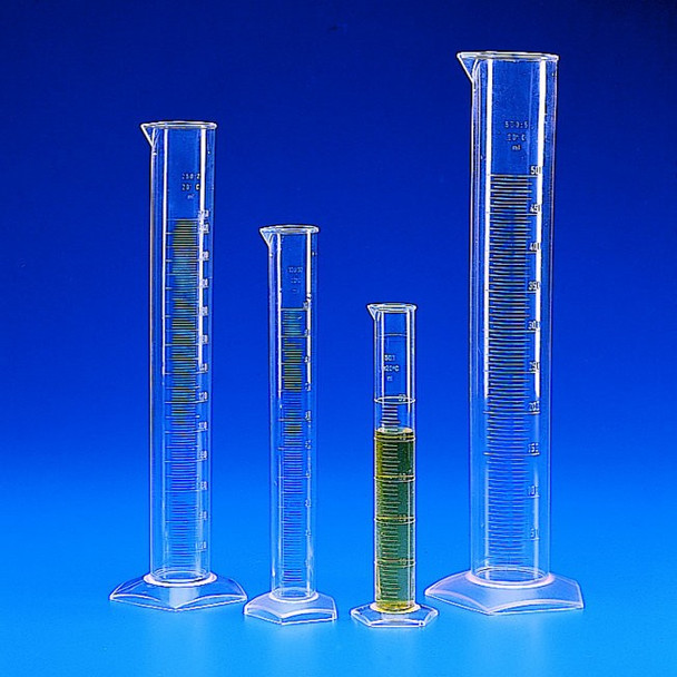 TPX Measuring Cylinder, Tall Form, 250ml